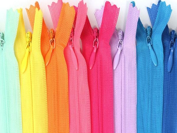Ziper YKK diversas cores